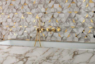 marmor brown calacatta wall