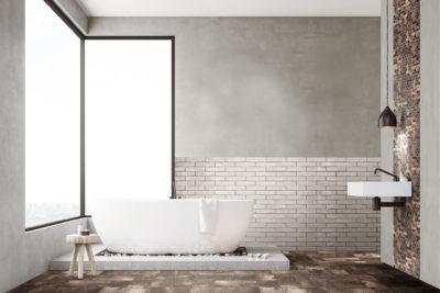 betonlook brun 20×20