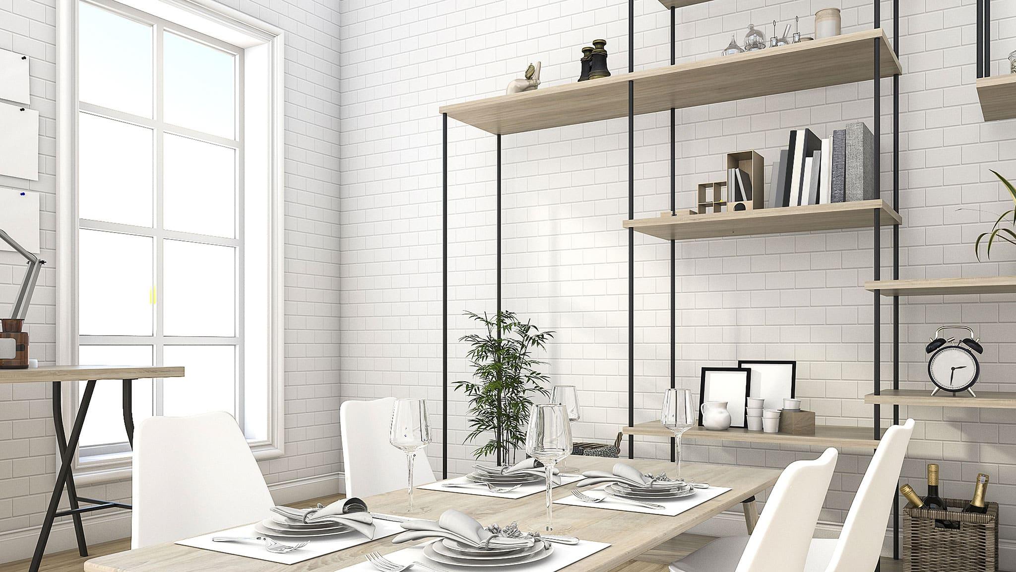 hvid matt 7,5×15