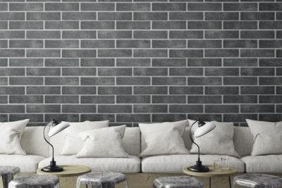 murstenlook grå 6×25