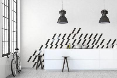 Terrazzo white 25×25