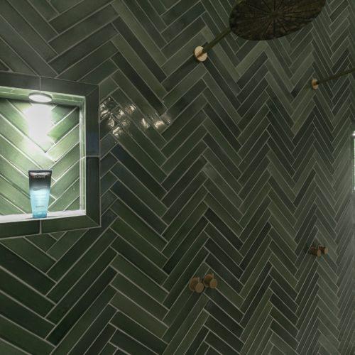 Grøn sildeben 5×30 håndlavet 1750kr prm2