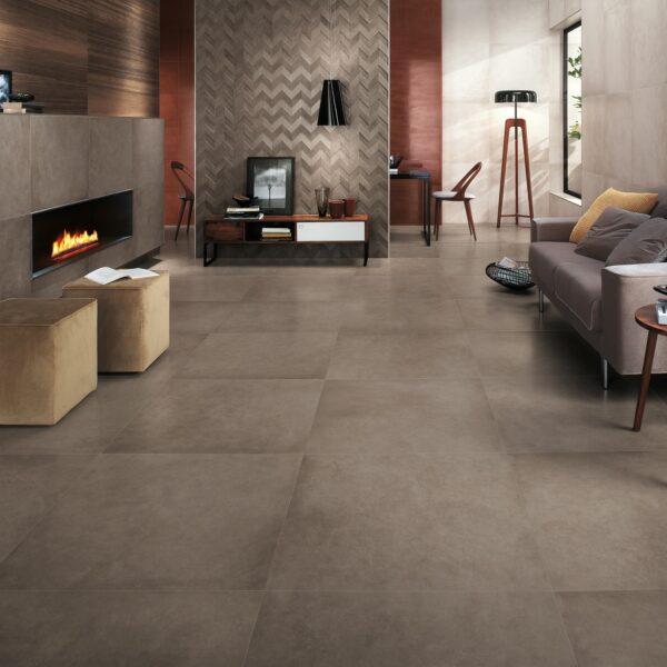 Beton og cement look fliser